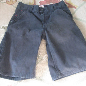 LEVI BLACK JEAN EXTRA LONG WOMEN SHORTS 14/ W27